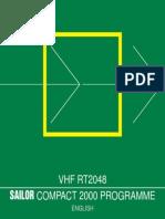 2 RT2048 Sailor Vhf User Manual