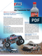Racing Transmission Fluid - www.oilshopper.com