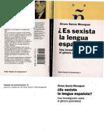 Garcia Meseguer Alvaro - Es Sexista La Lengua Española