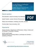 Gender,Nature and Culture