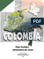 Geologia Tolima