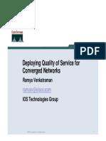 Deploying QoS Best Practices Jun 04