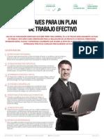 Claves Para Un Plan de Trabajo Efectivo