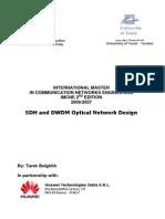 Huawei Dwdm Sdh