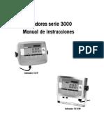 Modelo de Balanza Indicadores t31p, t31xw