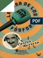 La Hora de Los Fosforos Herrera Carlos