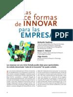 Las Doce Formas de Innovar Para Las Empresas