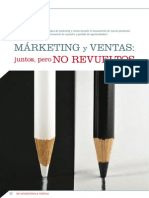 Marketing y Ventas Juntos Pero No Revueltos