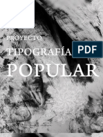 Tipografía Popular