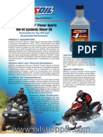 Formula 4-Stroke® PowerSports 0W-40 Synthetic Motor Oil