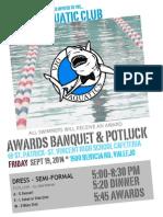 Awards Banquet Flyer 2014 Copy
