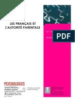 Les Français et l'autorité parentale
