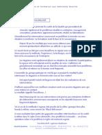 Brochure Formation