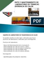 Procedimiento y Equipos de Laboratorio