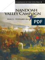 The Shenandoah Valley Campaign March-November 1964