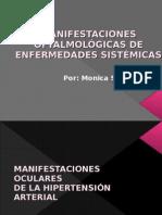MANIFESTACIONES OFTALMOLÓGICAS DE ENFERMEDADES SISTÉMICAS