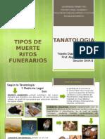 Tanatologia Yoselis Diaz Presentacion