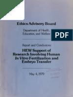 HEW IVF Report