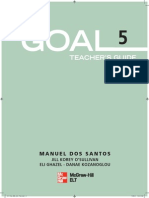 Mega Goal 5 Teacher Guide