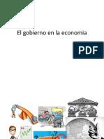 El Gobierno en La Economia
