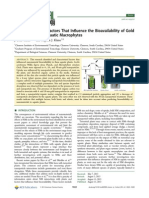 Abiotic and Biotic Factors Tha Influence the Bioavailability AuNp to Aquatic Macrophites