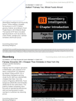 Bloomberg report on groceries