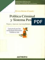[Iñaki Rivera Beiras] Política Criminal y el Sistema Penal.pdf