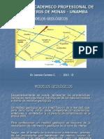 MODELOS GEOLÓGICOS MR12