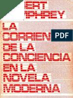 Robert Humphrey- La corriente de la conciencia en la novela moderna