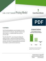 GSA-NAV Based Pricing Model 2013