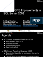 SSIS and RS Improvements in SQL Server 2008 - Kuldeep Chauhan and Nirmal Kohli