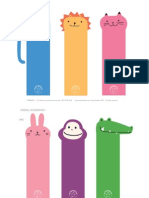 Mrprintables Animal Bookmarks a4