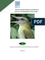 Estudios Diversidad Aves Residentes y Migratorias