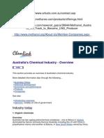 Australian Chemical Industry