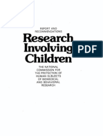 Research Involving Children