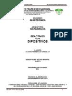Reactivos de Dipositivos 2010