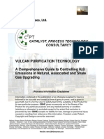 Controlling H2S Emissions in Natural Associated and shale gas upgarding