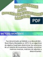 Método Montante