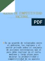 Agenda de Competitividad Nacional