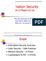 Information Security - A Primer