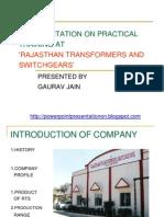 Rajasthan Transformer 1