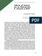 Zizek Dussel y Boff