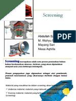 Presentasi Screening