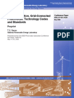 Photovoltaic Technology Codes and Standards