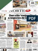 Periódico Norte edición del día 7 de septiembre de 2014
