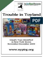 New York Unsafe Toys 2009