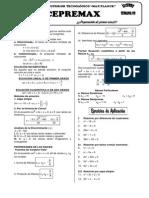 CEPREMAX - Algebra Semana 08 (Ecuaciones