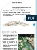 The Noyyal River Spillage