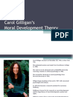 Carol Gilligan Moral Development Theory