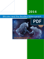 Bitcoins and the Donald Bradley Siderograph - Historical Correlations